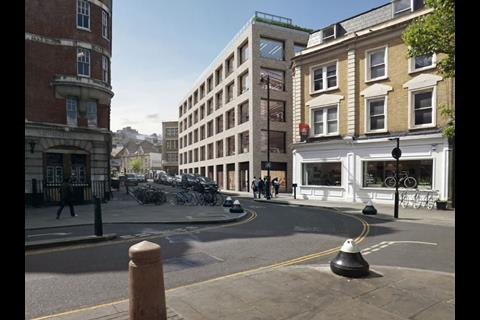 Shoreditch island proposals by Douglas and King Architects